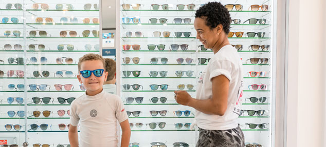 sunglass store