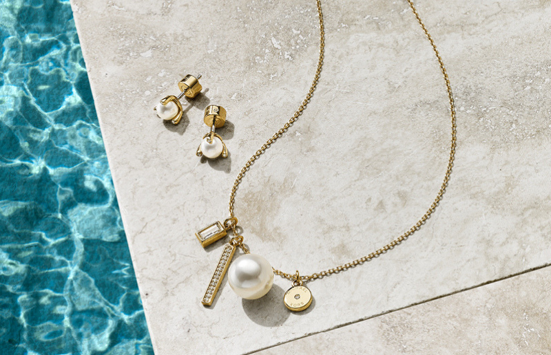 Michael Kors Pearl Necklace